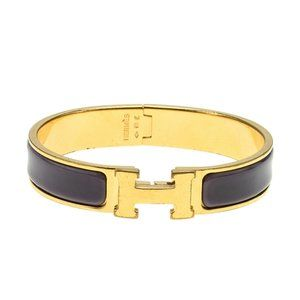 Hermes Narrow Clic Clac& No Bangle Bracelet 181462
